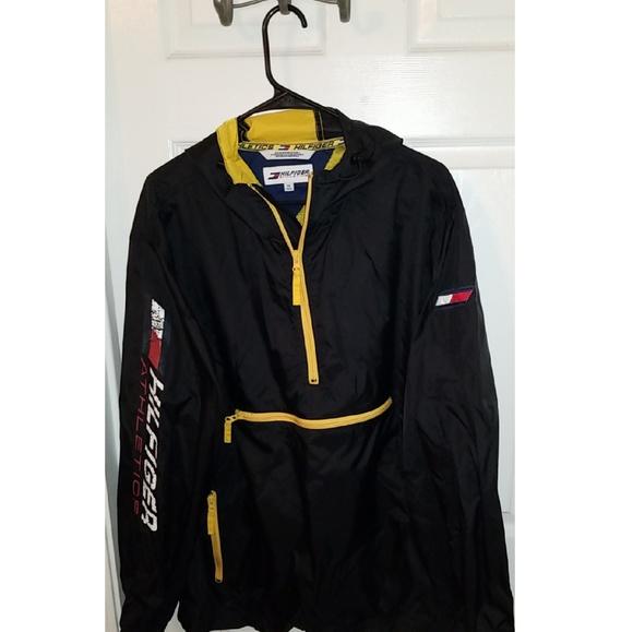 fe0bd560c Tommy Hilfiger Jackets & Coats | Hilfiger Athletics Windbreaker ...
